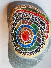 Mosaik Stein, Gartendeko_