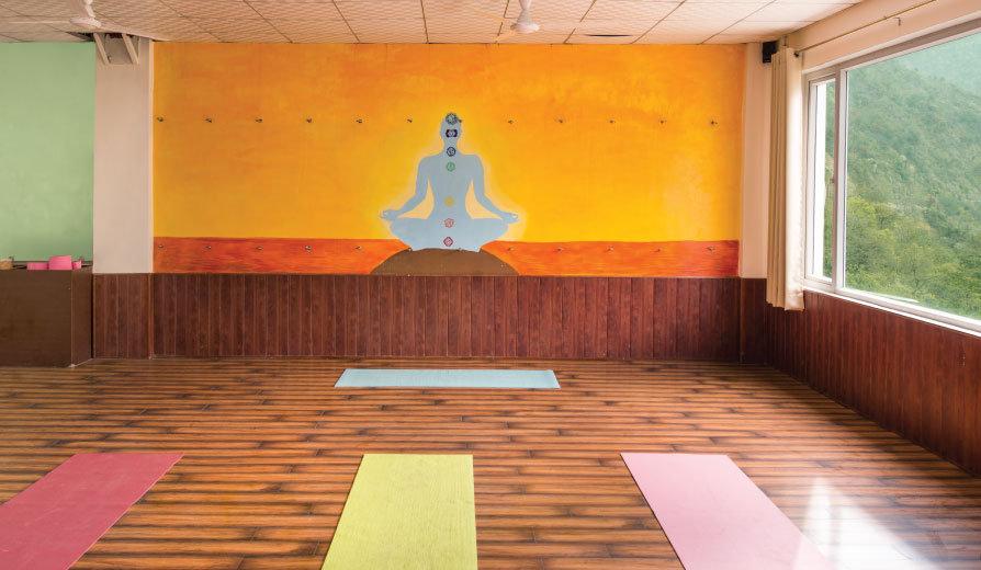 Yoga at Rishikesh Aadhya Yogshala