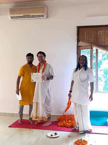 Abhi Sharma founder of Aadhya Yogshala