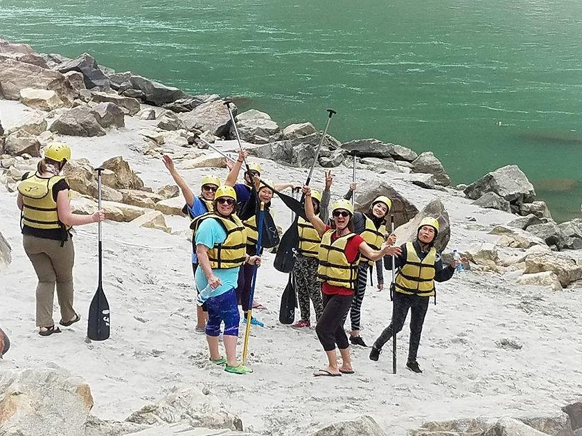 Aadhya Yogshala River Rafting