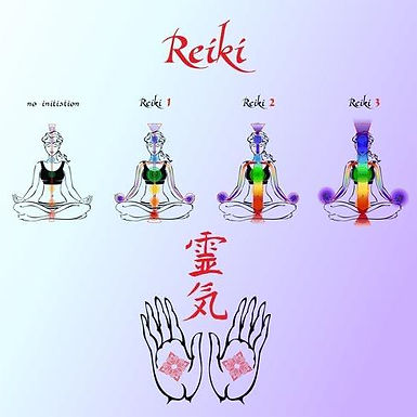 Reiki 3 Training And Certification by Siuking