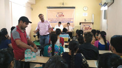 Mr.Rajesh Marwaha from K.L.S.D.College