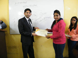 CERTIFICATE DISTRIBUTION