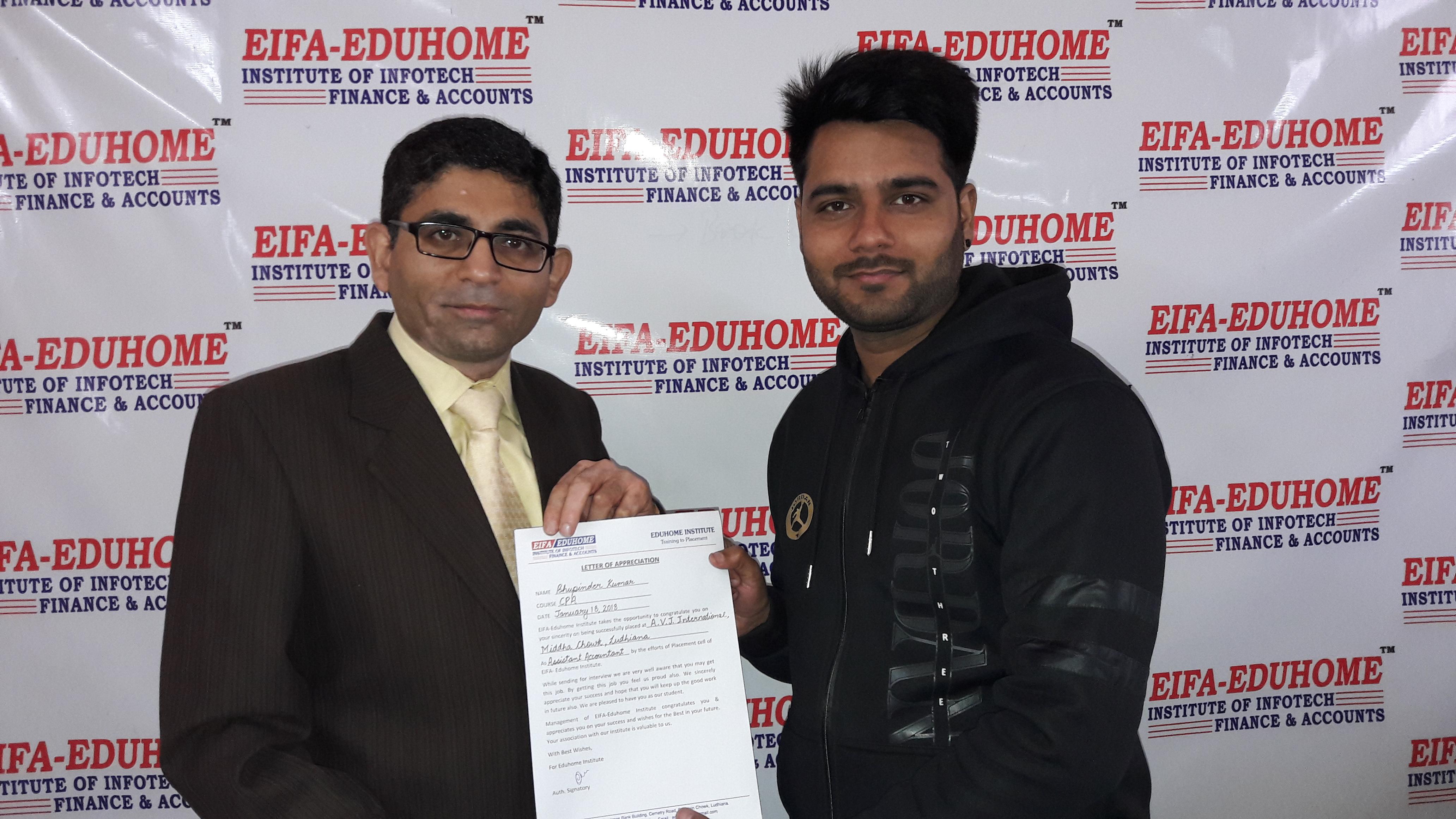 Bhupinder Kumar (A.V.J.International)