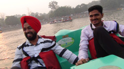 Trip to Sukhna Lake, Chandigarh