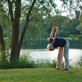 Yoga at the Canal