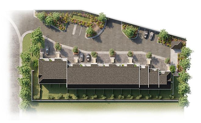 Lakeview Towns - Site Plan Rendering_edi