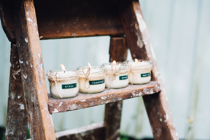 Candles for wedding favours? Tell me more.