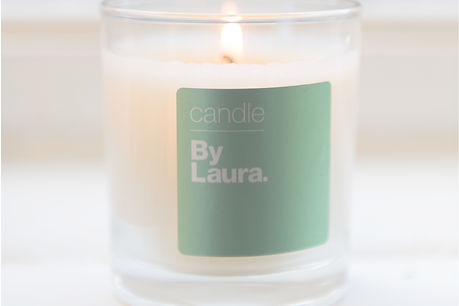 By Laura London scented candles