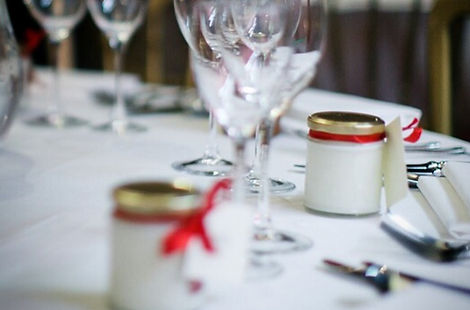 By Laura Favour Wedding candles