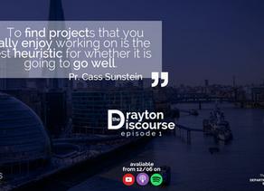 Drayton Discourse Ep.1 | Prof. Cass Sunstein