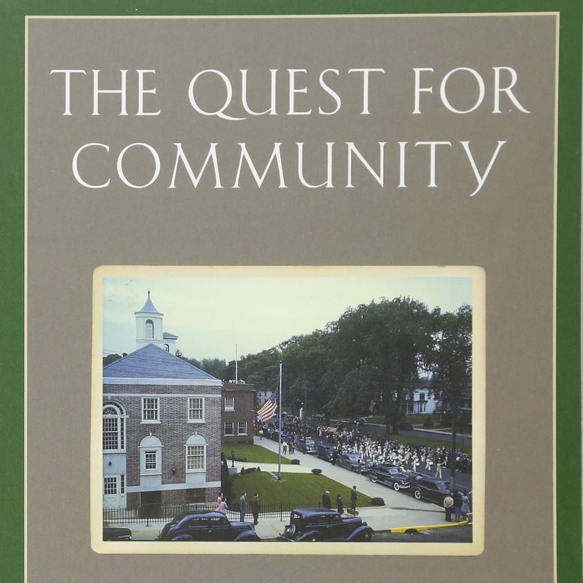 "UT-Austin Reading Group: ""Quest for Community"""