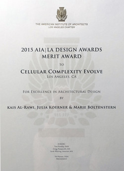 AIA Design Merit Award >>