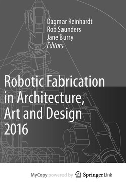 Robots in Architecture >>