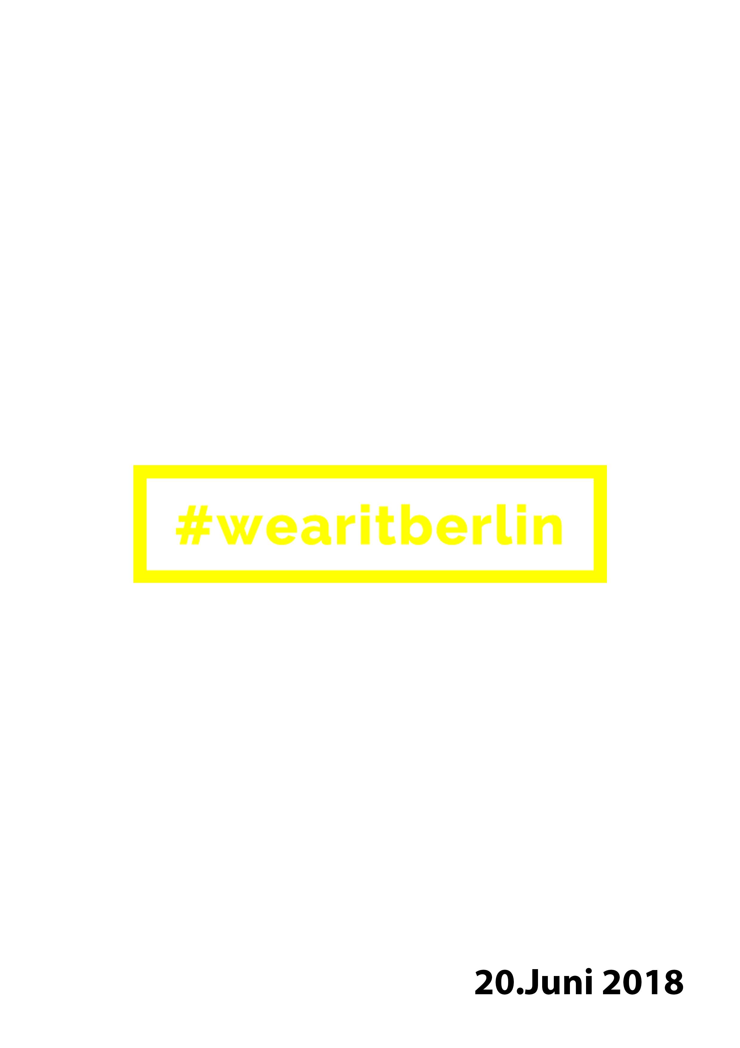 Talk at Wearitberlin >>
