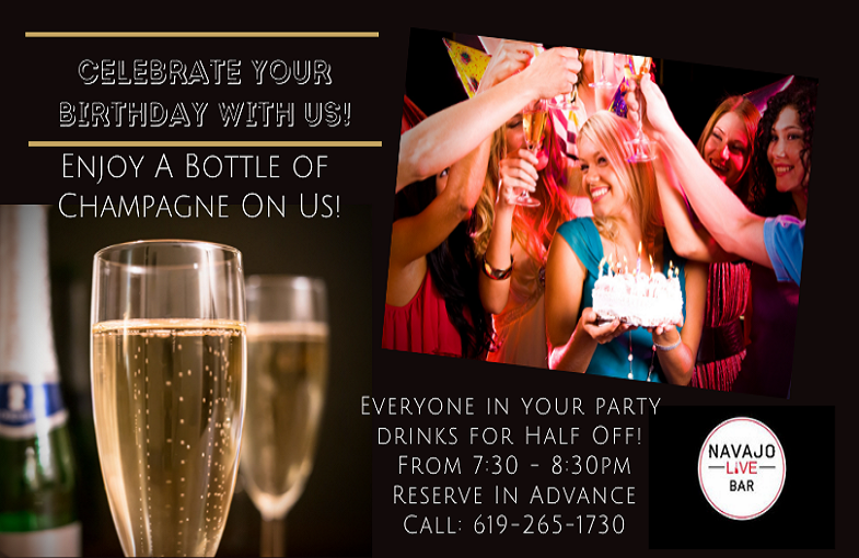 Celebrate Your Birthday with us Navajo L