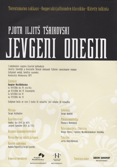 2. Jevgeni Onegin