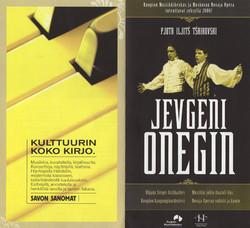 1. Jevgeni Onegin in Finland