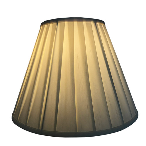 Creme linen round box pleat lamp shade home lighting el monte creme linen round box pleat lamp shade mozeypictures Images