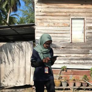 Najwa interviewed participanats in Bachok