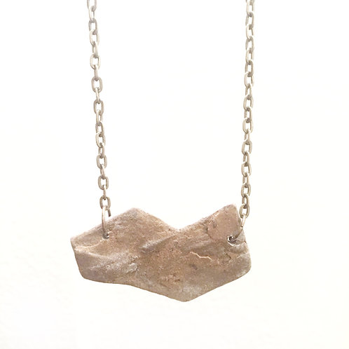 Lake Michigan Stone Necklace