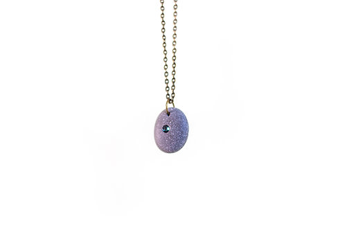 Swarovski stone necklace