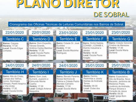 Cronograma Oficinas de Leitura - Sede
