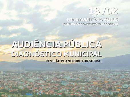 Audiência Pública - Diagnóstico Municipal