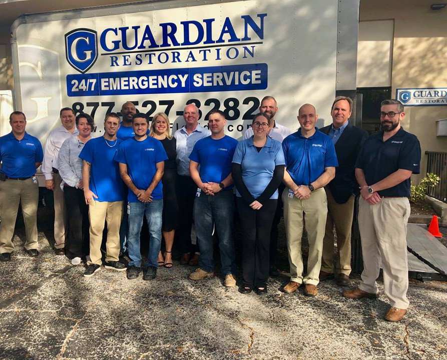 Guardian Restoration Services Team