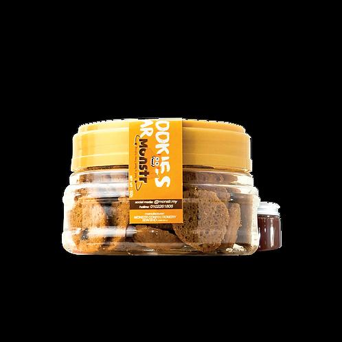 Pour and Dip Kookies Jar Monstr