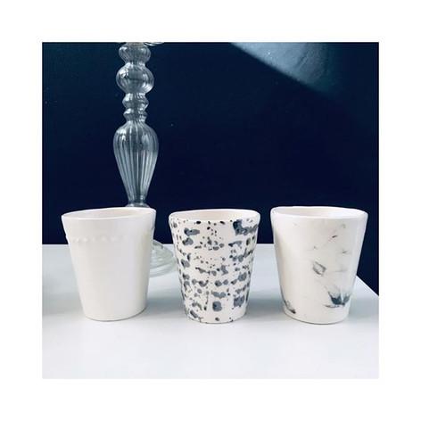 Black ans white #ceramique #catherinetis