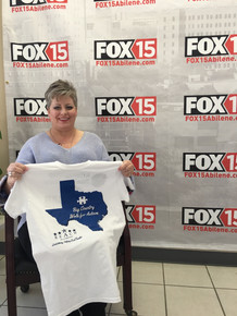 Executive Director, Sara Collins at Fox15 Abilene