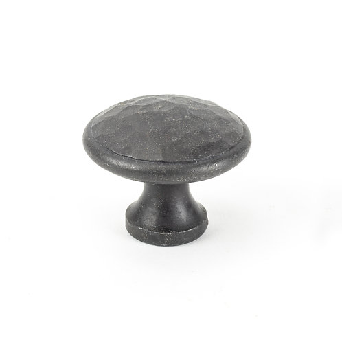 From The Anvil - Beeswax Hammered Cabinet Knob - Large