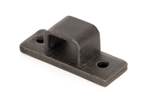 """From The Anvil - Beeswax Receiver Bridge for 6"""" Straight Door Bolt"""
