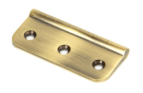 """From The Anvil - Aged Brass 3"""" Dummy Butt Hinge (Single)"""