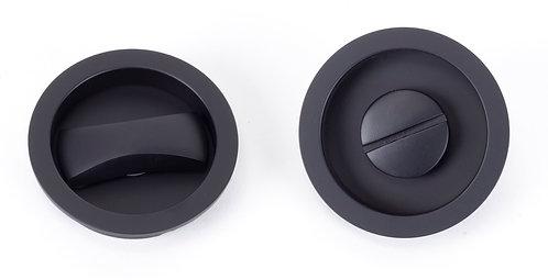 From The Anvil - Black Sliding/Pocket Door Locking Kit