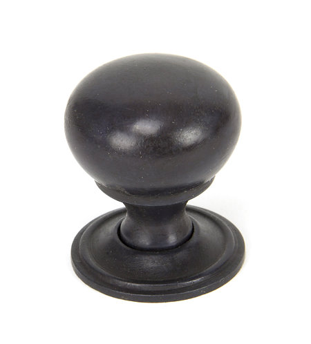 From The Anvil - Aged Bronze Mushroom Cabinet Knob 32mm