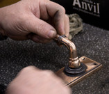 Bronze Reeded Lever Handle Assembly_4.jp