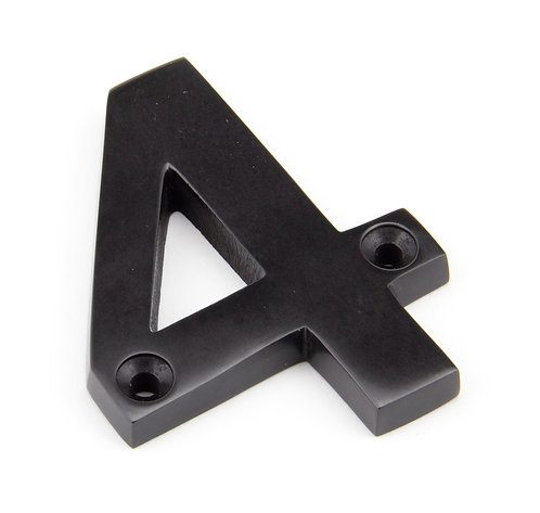 From The Anvil - Aged Bronze Numeral 4