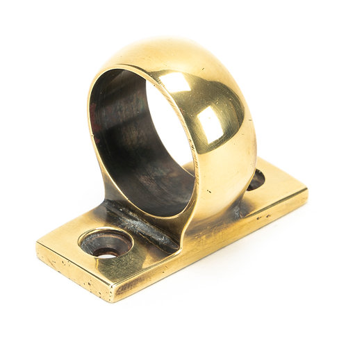 From The Anvil - Aged Brass Sash Eye Lift