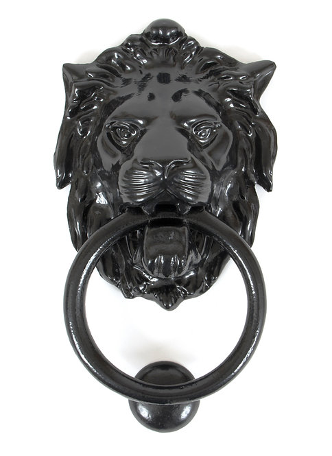From The Anvil - Black Lion Head Knocker