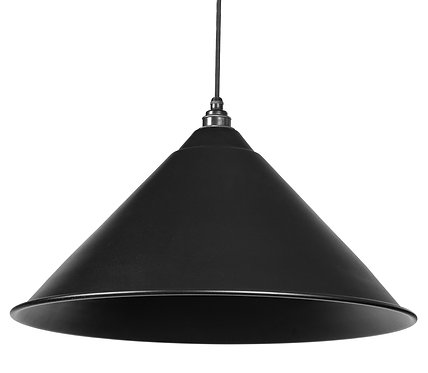 From The Anvil - Black Full Colour Hockley Pendant