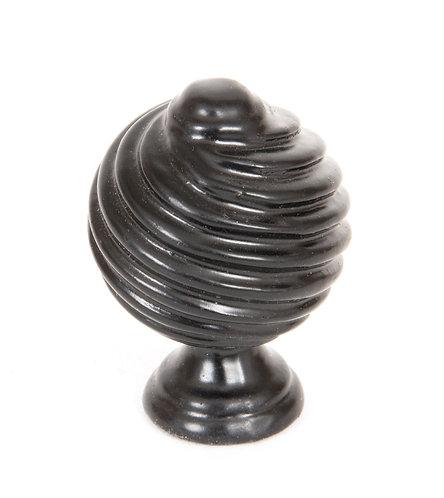 From The Anvil - Black Twist Cabinet Knob