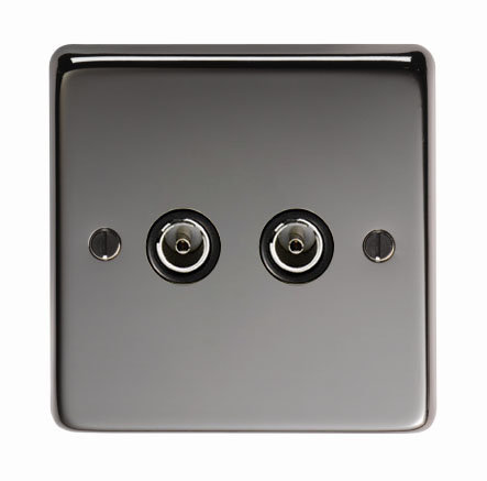 From The Anvil - BN Double TV Socket