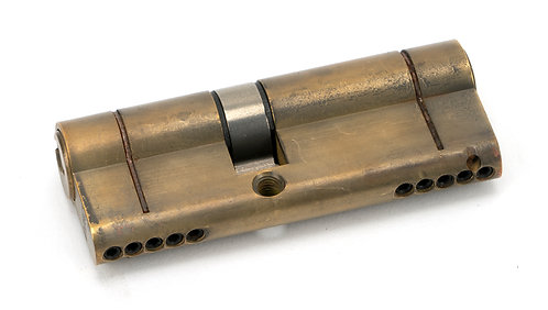 From The Anvil - Aged Brass 35/45 5pin Euro Cylinder
