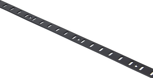 From The Anvil - Black Flat Bookcase Strip 1.83m