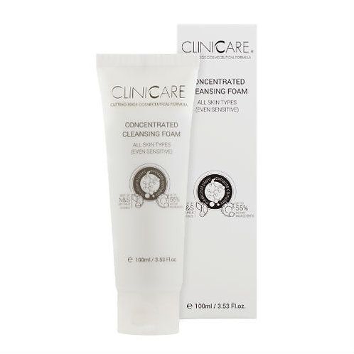 Clinicare Concentrated Cleansing Foam 100ml