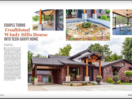 Tops Magazine Captures our Tour House