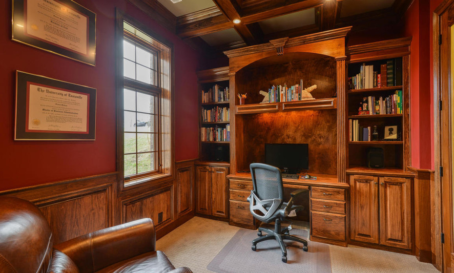 An executive office built with all efficiencies needed for success.