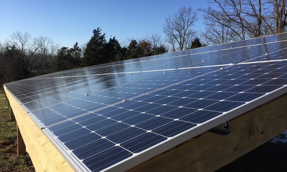 This farm not only grows its own fruits and vegetables each year, but it is also net zero meaning that it collects as much energy as it consumes with this 30KW solar array.